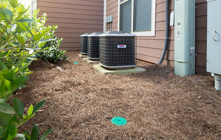 sentricon termite bait stations installed on property